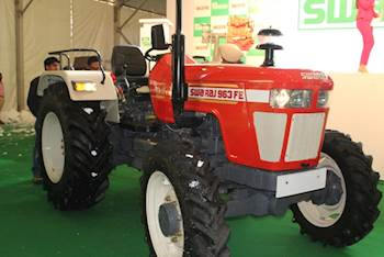 Swaraj's New BEAST : 963FE, Rising upto 75 HP