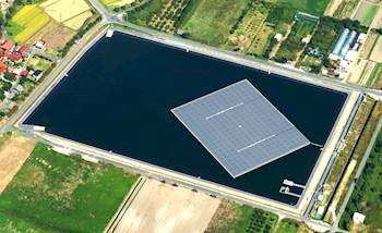 The Benefits of Floating Solar Panels