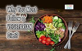 10 benefits of being a Vegetarian