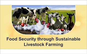 Food Security through Sustainable Livestock Farming