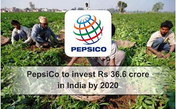 PepsiCo to invest Rs 36.6 crore in India by 2020