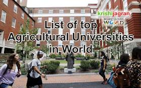 List of top Agricultural Universities in the World
