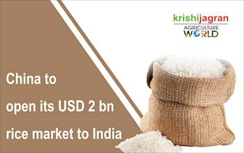 China to open its USD 2 bn rice market to India