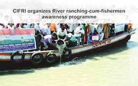 CIFRI organizes River ranching-cum-fishermen awareness programme