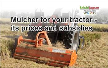 Mulcher for your tractor - its prices and subsidies