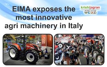 EIMA exposes the most innovative agri machinery in Italy