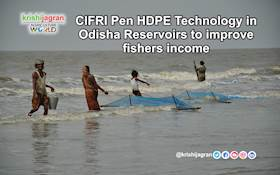 CIFRI Pen HDPE Technology in Odisha Reservoirs to improve fishers income