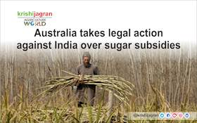 Australia takes legal action against India over sugar subsidies