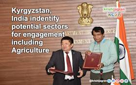 Kyrgyzstan, India indentify potential sectors for engagement including Agriculture