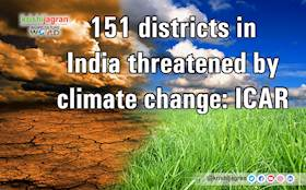 151 districts in India threatened by climate change: ICAR