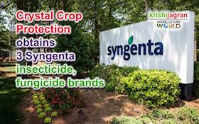 Crystal Crop Protection obtains 3 Syngenta insecticide, fungicide brands