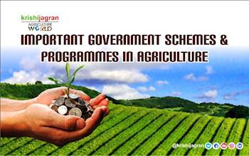 Important Government Schemes & Programmes in Agriculture