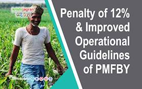 Penalty of 12% & Improved Operational Guidelines of PMFBY