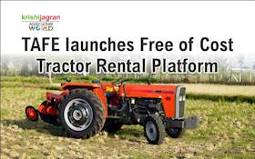 TAFE launches Free of Cost Tractor Rental Platform