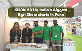 KISAN 2018; India's Biggest Agri Show starts in Pune