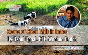 Scope of Clean Milk in India: By Rahul Uppal, CEO Woohoo Doodh