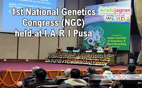 1st National Genetics Congress (NGC) held at I.A.R.I Pusa