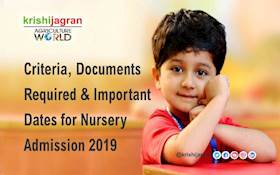 Criteria, Documents Required & Important Dates for Nursery Admission 2019