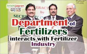 Department of Fertilizers interacts with Fertilizer Industry