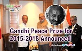 Awardees of Gandhi Peace Prize for the Years 2015-2018