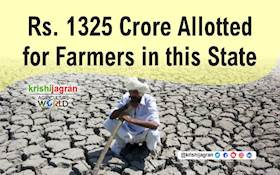 Government Allocates Rs. 1325 Crore for Drought-affected Farmers