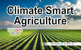 Climate Smart Agriculture - Building Resilience to Climate Change