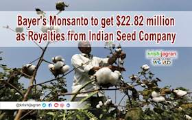 Bayer's Monsanto to get $22.82 million as Royalties from Indian Seed Company
