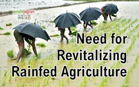 Need for Revitalizing Rainfed Agriculture