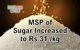Centre Hikes MSP of Sugar by Rs 2 per Kg