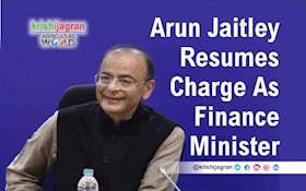 Arun Jaitley Back As Finance Minister