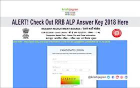 Direct Link to Check RRB ALP Answer Key 2018 & Important Tips for the Candidates