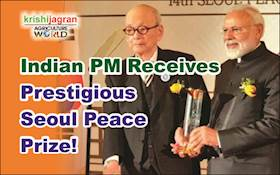 PM Modi, First Indian to Receive Seoul Peace Prize