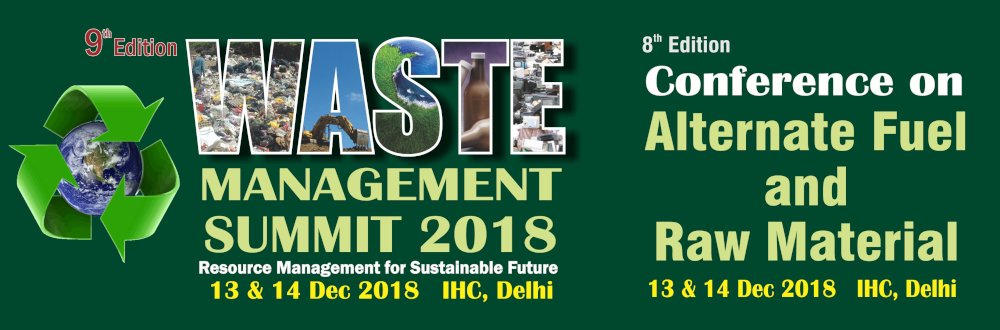 Waste Management Summit 2018 to focus on innovative business models