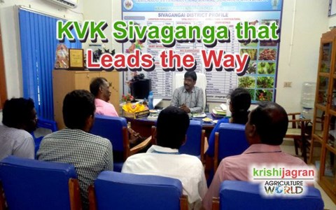 KVK Sivaganga that Leads the Way