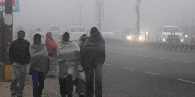 Image result for cold delhi early morning