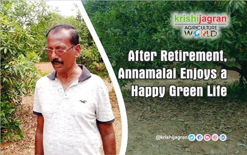 After Retirement, Annamalai Enjoys a Happy Green Life