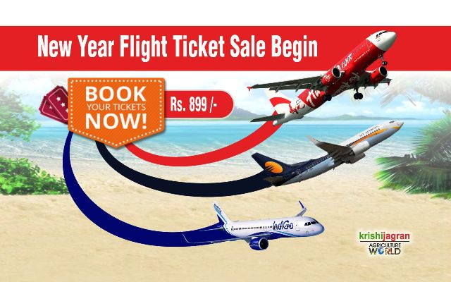 AIRLINE FLASH SALE BEGINS Book Jet Airways AirAsia Indigo Tickets For Just Rs 899