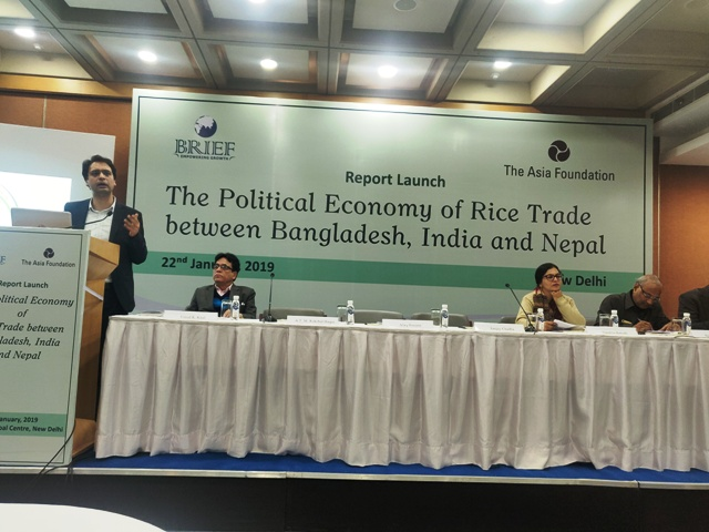 Report on Political Economy of Rice Trade between India