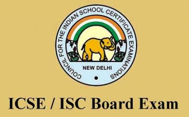 ICSE ISC Board Exam 2019