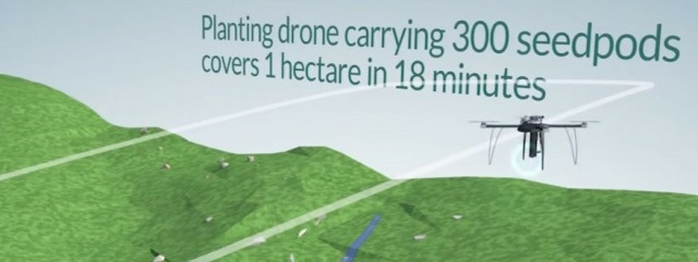Drone That Can Plant 10,000 Trees a Day