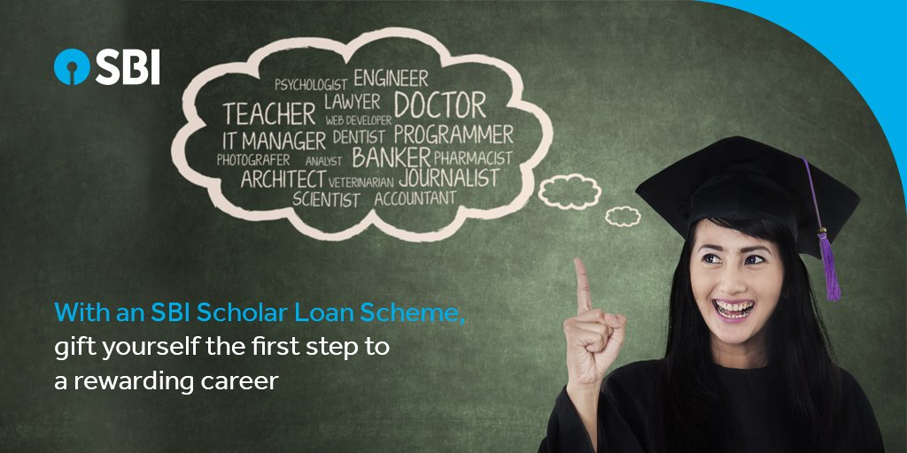 SBI Student Scholar Loan Offers 100% Finance for Pursuing