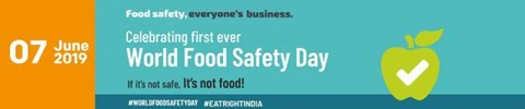 FSSAI Celebrates the First Ever 'World Food Safety Day' in New Delhi Today