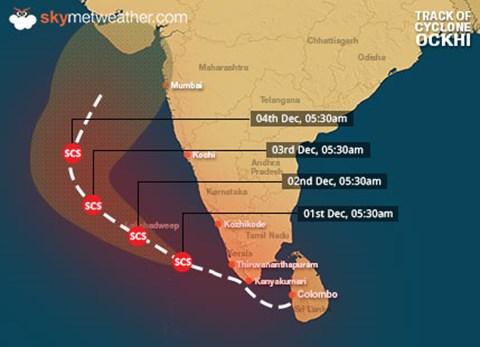 Alert!! Cyclone Named 'Vayu', 300 Km from Maharashtra Coast Arriving Tomorrow