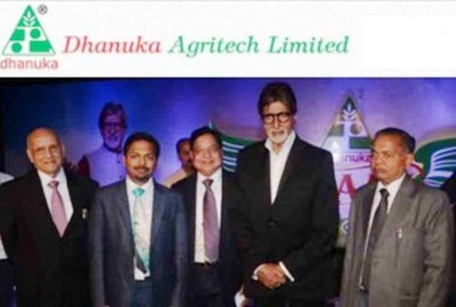 Dhanuka Agritech Ltd.with Amitab