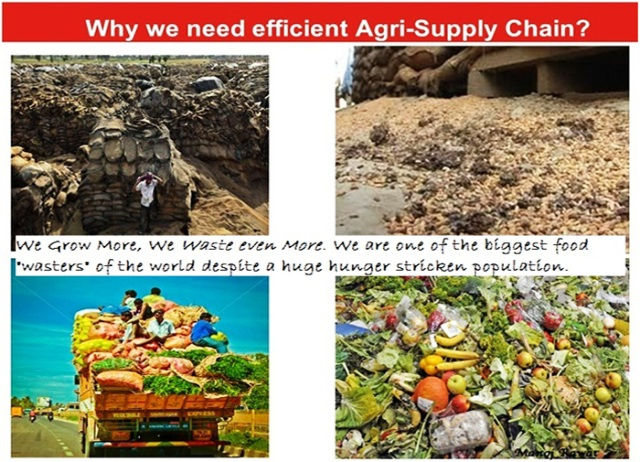 Need for Efficient and Robust Agri Value Chain in India