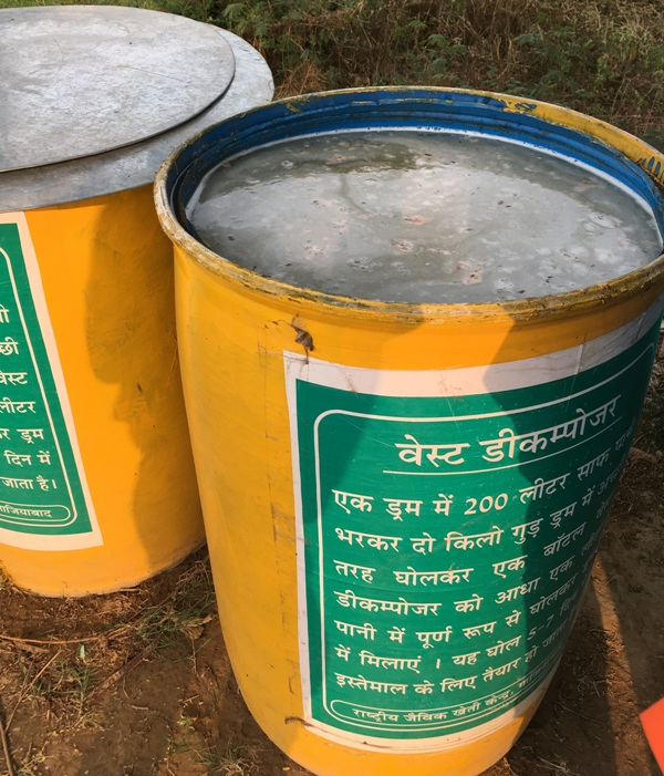Waste decomposer solution