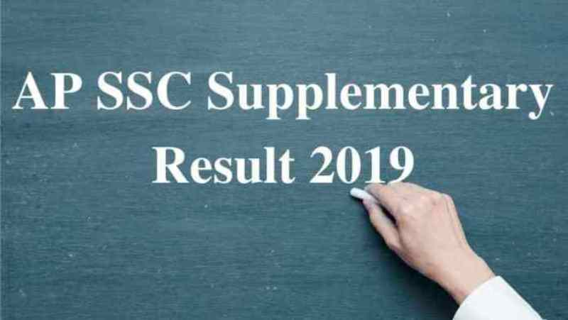 AP SSC Supplementary Result 2019