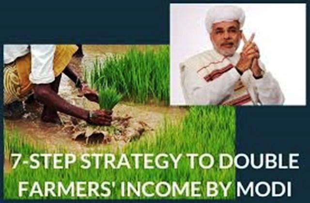 Double Farmers Income by modi