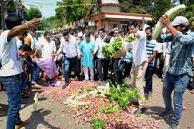 "issues of farmers,"" Dhawle said."
