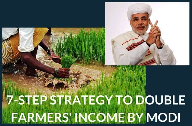 7-step-strategy-to-double-farmers-income-by-modi